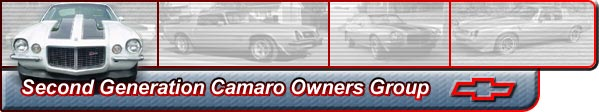 The largest and most complete source of Second Generation Camaro information available 
