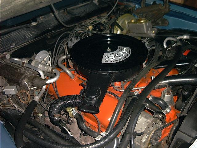 Second Generation Super Sport Engines - the 396