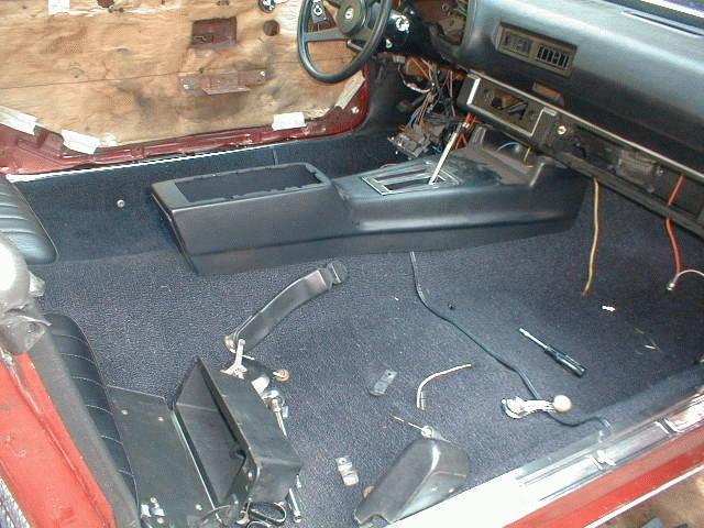 North Georgia Classic Camaro - Carpet, Floor & Seat Belt
