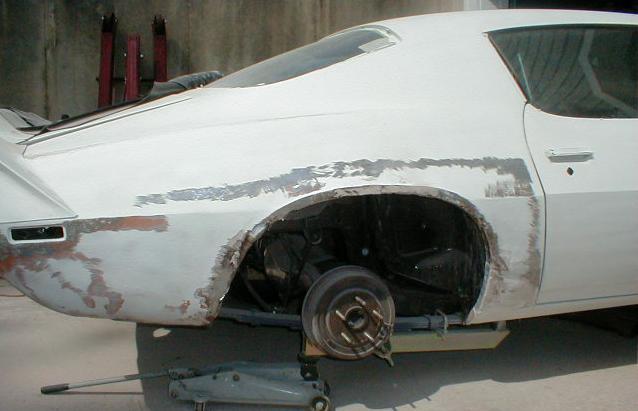 Camaro Sheet Metal Restoration