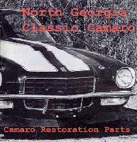 North Georgia Classic Camaro - 1999 Catalog cover