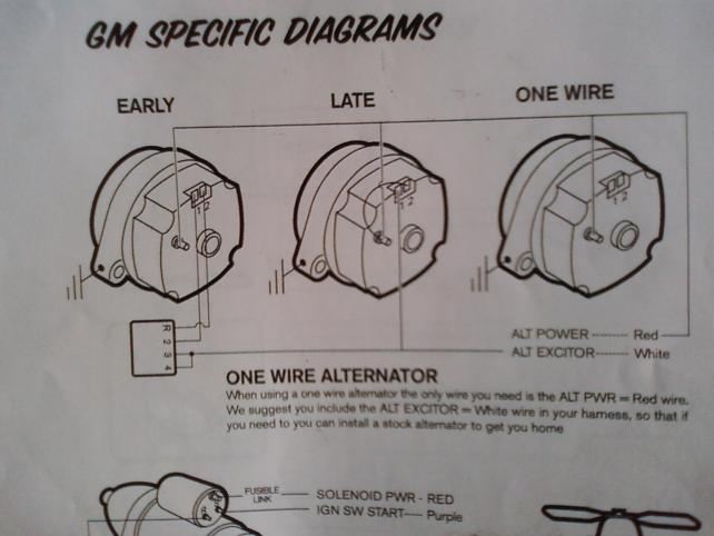 chevy alternator wiring diagram for 1986 enthusiast wiring diagrams u2022 rh rasalibre co GM 12V Alternator Wiring Diagram GM Alternator Wiring Diagram