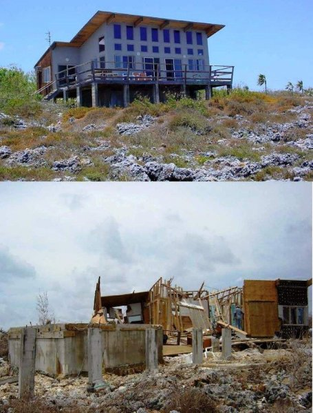 Grand Cayman Our House Before and after IVAN.jpg