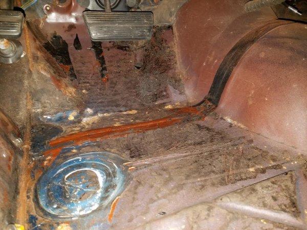 Floor Metal Surface Rust Pin Holes Solutions