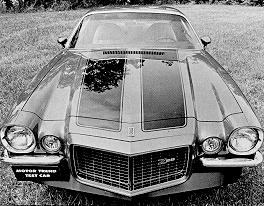 1971 Camaro data - Statistics, facts, decoding, figures