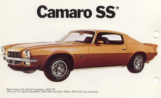 1972 Camaro Rs >> 1972 Camaro data - Statistics, facts, decoding, figures & reference information