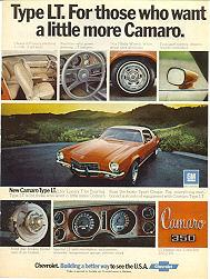 Click here to view 1973 Type LT Sales Ad