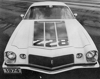 1974 Camaro Data Statistics Facts Decoding Figures