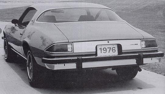 1976 Camaro data - Statistics, facts, decoding, figures & reference