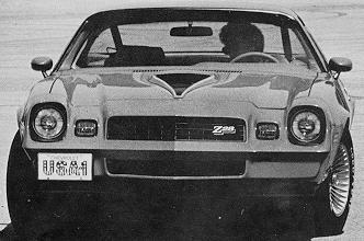 1978 Camaro Data Statistics Facts Decoding Figures