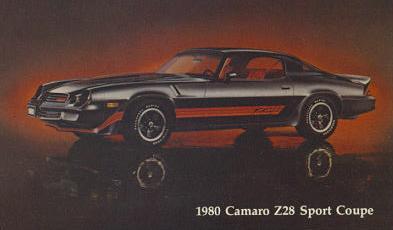 1980 Camaro data - Statistics, facts, decoding, figures ... on