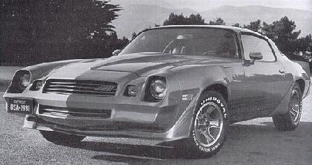 1981 camaro parts and restoration information