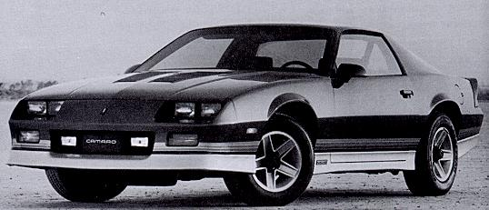 1987 Camaro Statistics Facts Decoding Figures