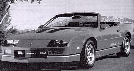 1989 Camaro Statistics, facts, decoding, figures & reference