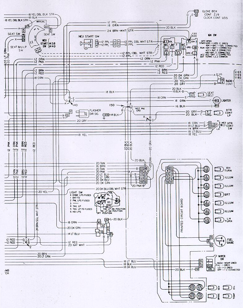 73w ip camaro wiring & electrical information Turn Signal Wiring Diagram at gsmx.co
