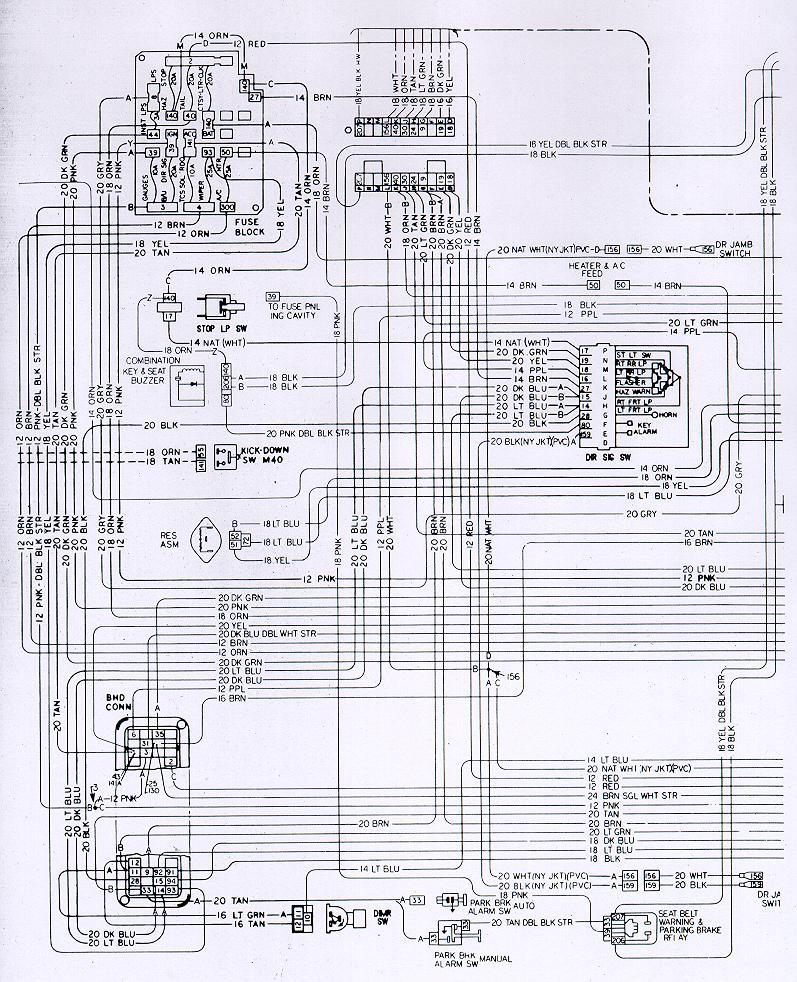 camaro wiring electrical information rh nastyz28 com 1979 pontiac trans am blower motor wiring diagram Pontiac Grand Prix Wiring Diagrams