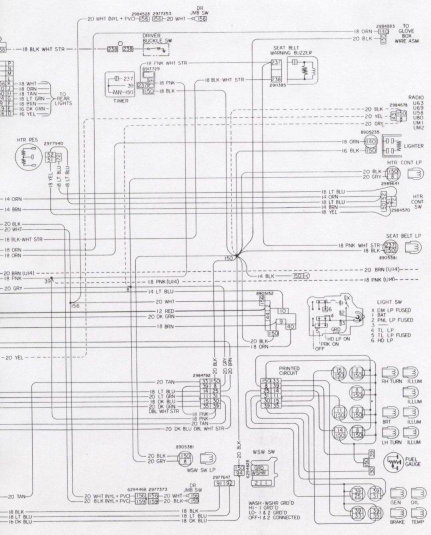 1971 Camaro Wiring Schematic Opinions About Diagram 2012 Tail Light Electrical Information 1970 1968 Schematics