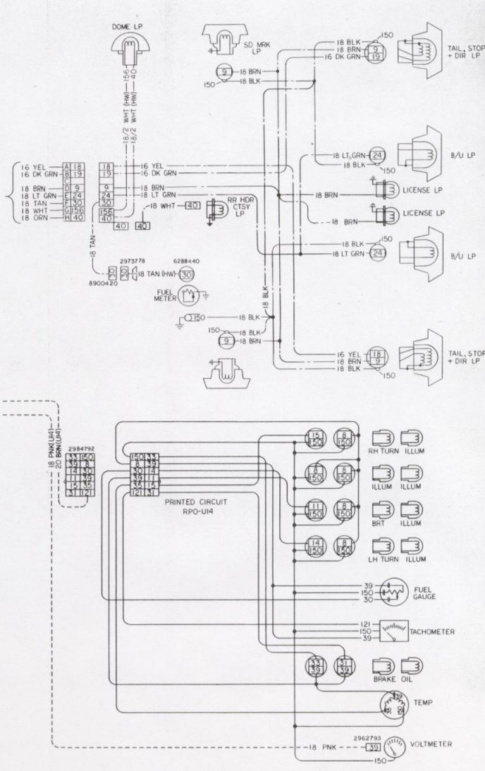 31 1968 Camaro Wiring Diagram