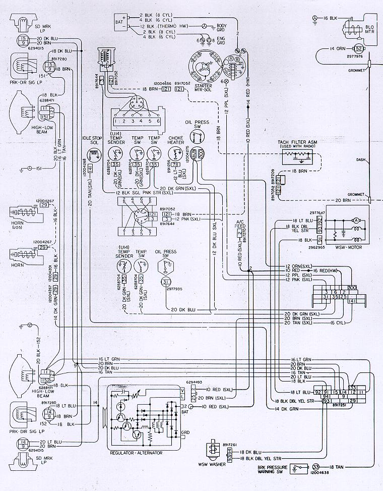Camaro Wiring Electrical Informationrhnastyz28: 1978 Chevrolet Corvette Wiring Diagram At Gmaili.net
