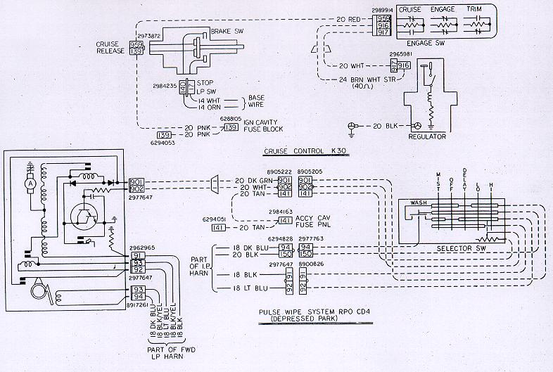 78w k30cd4 camaro wiring diagrams, electrical information, troubleshooting Turn Signal Wiring Diagram at gsmx.co