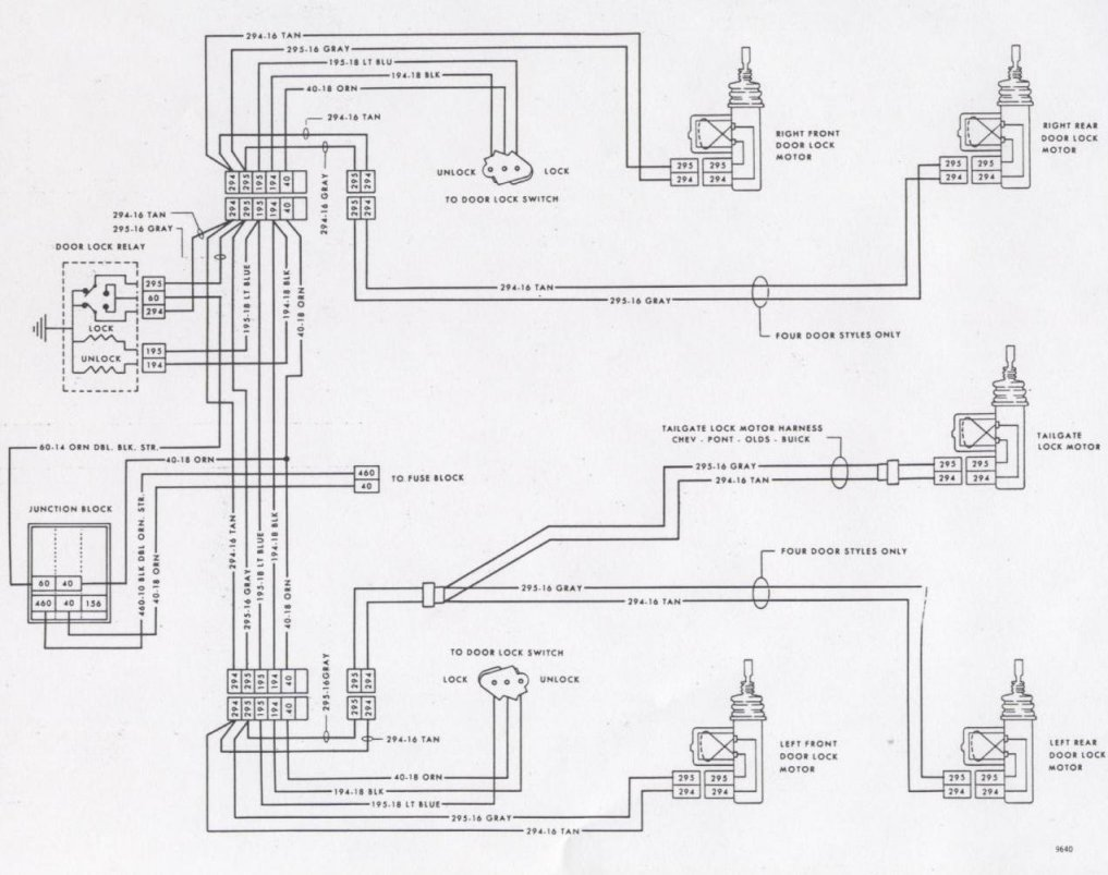 77 trans am wiring diagram