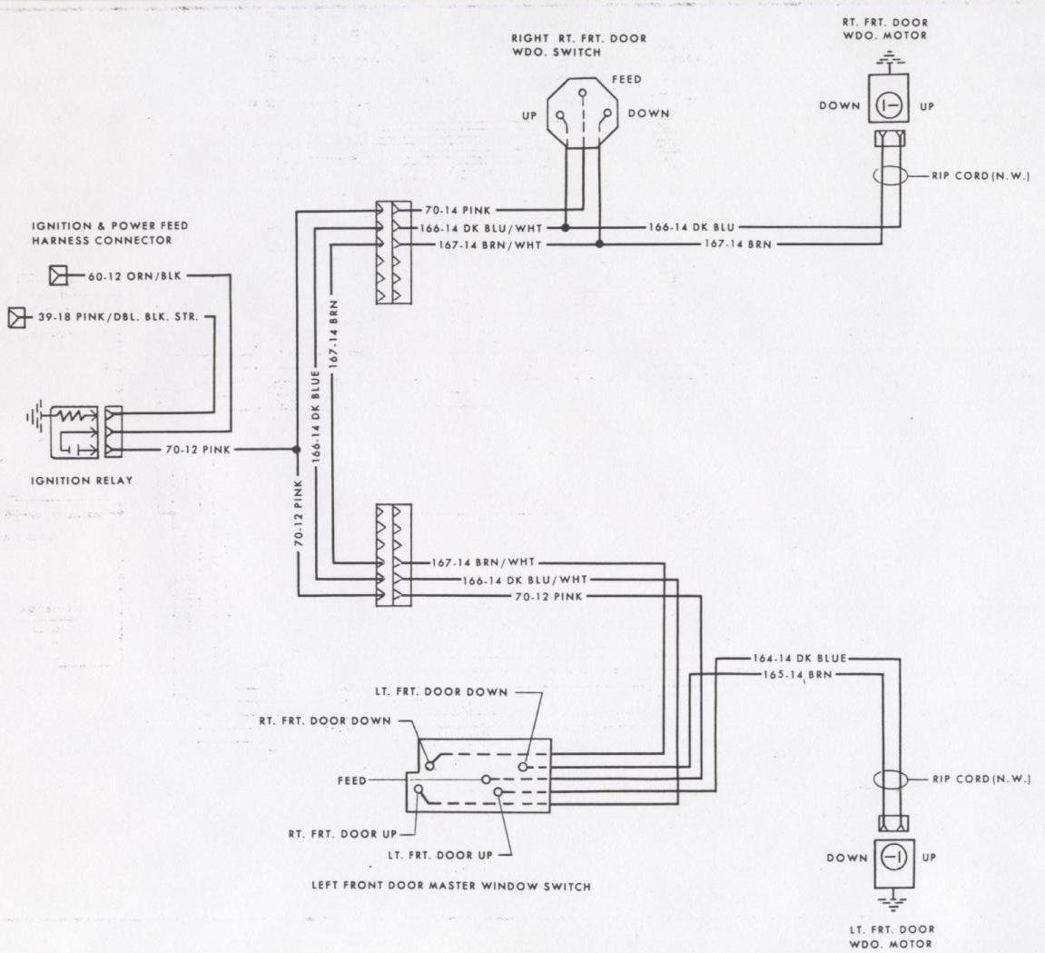 Camaro Wiring Diagrams Electrical Information Troubleshooting 71 Nova Diagram Front Power Locks 1978