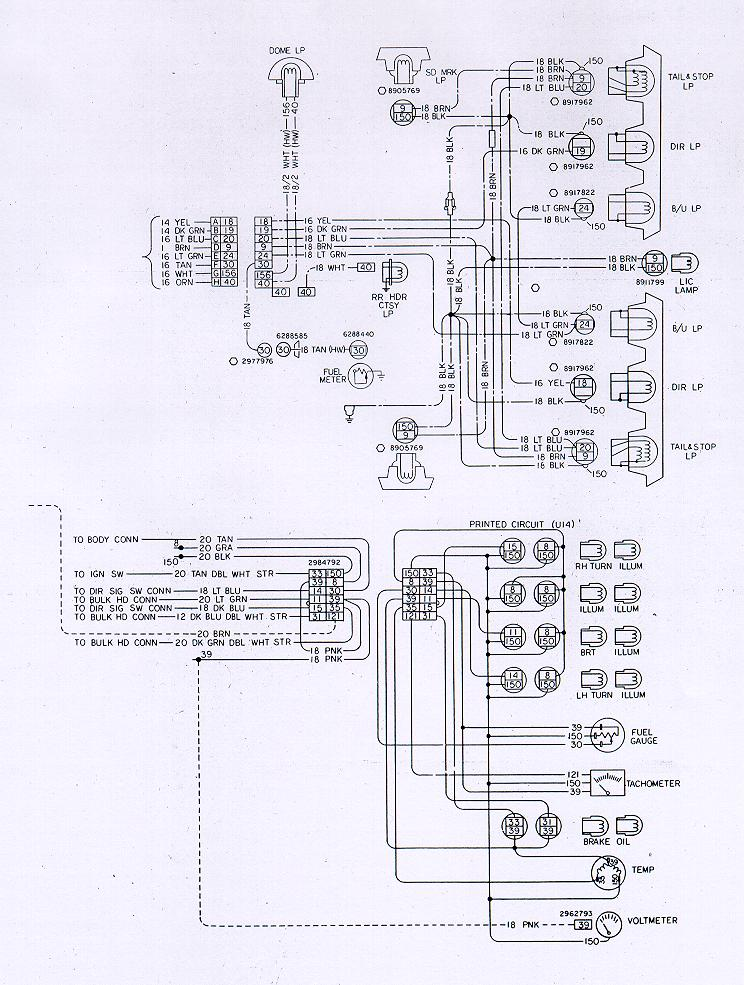 78w rear camaro wiring & electrical information 1978 Camaro at honlapkeszites.co