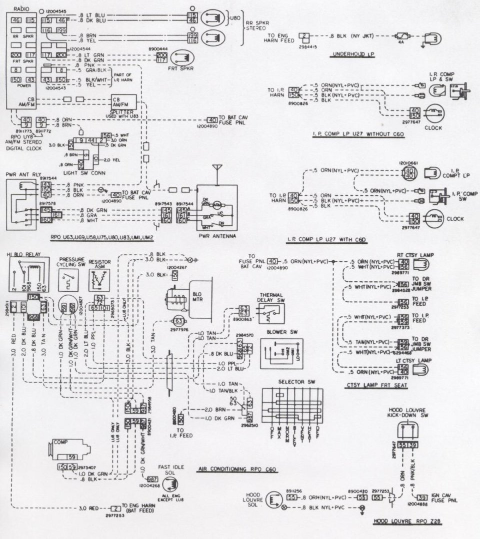 1972 Camaro Fuse Diagram Wiring Data Diagrams For 1970 Chevy Truck Box Library 1999
