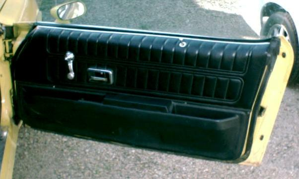 Camaro Door Panel Restoration And Information