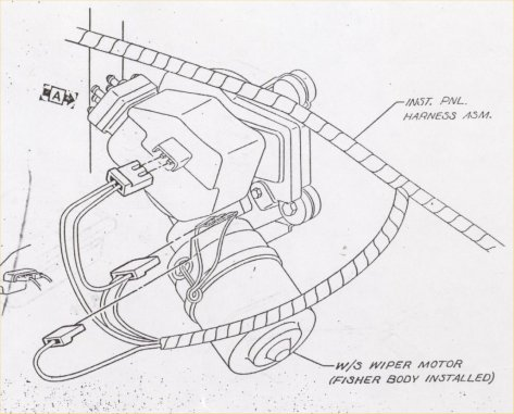 Wiper on 67 camaro wiring diagram