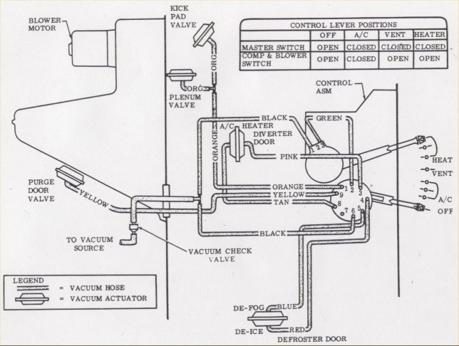 car heater blower motor wiring diagram