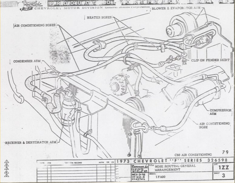 1977 chevelle air conditioning wiring diagram