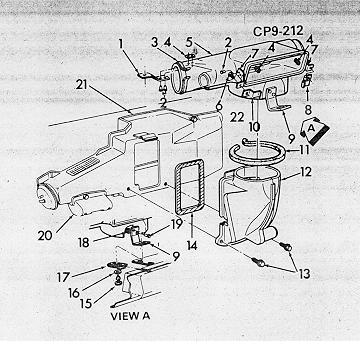 78 camaro blower motor diagram diy enthusiasts wiring diagrams \u2022 79 chevy truck fuse box diagram camaro air conditioning system information and restoration rh nastyz28 com blower fan diagram 4 speed blower