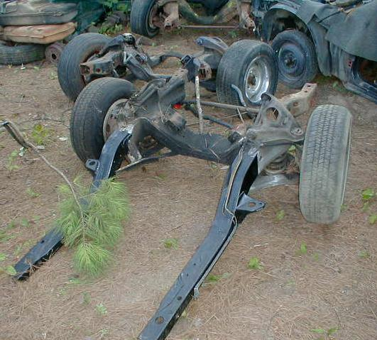 The Subframe From The Car