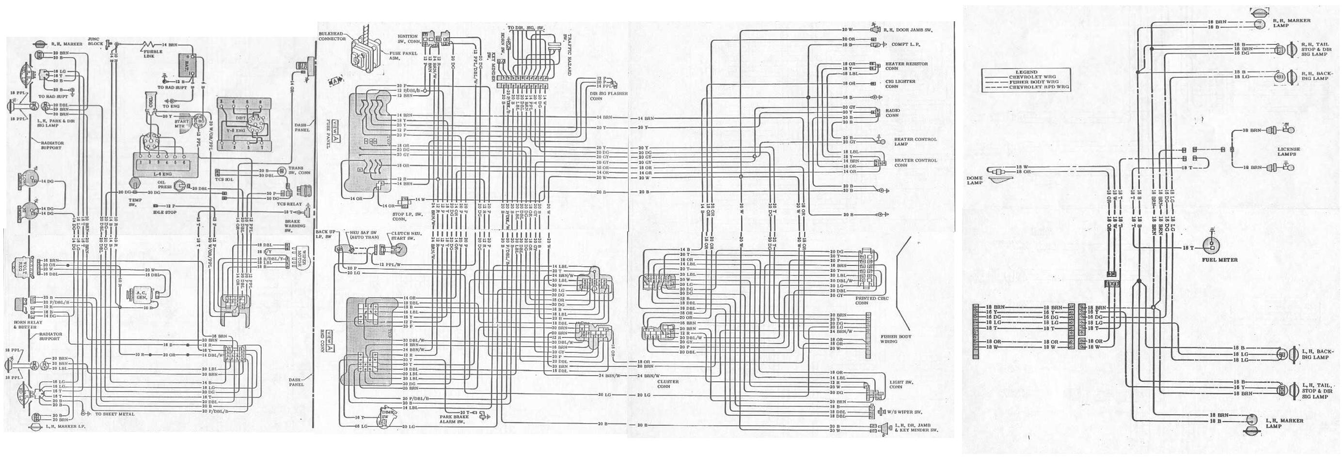 70 Pontiac Gto Wiring Diagram Library 2004 Schematic Diagrams Rh Nastyz28 Com 1970 Firebird