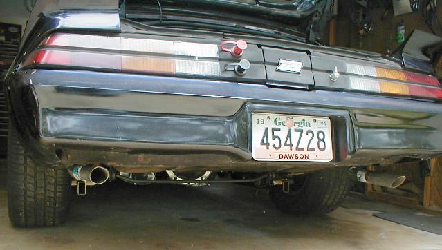 My 80Z's exhaust system