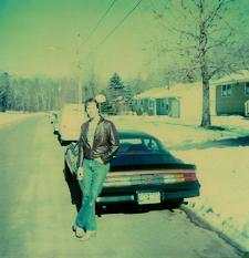 me & my Z in 1985
